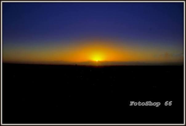 Sunrise morning has broken